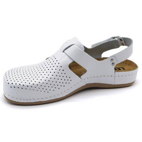 Leon Comfort 951 Fehér női szandál