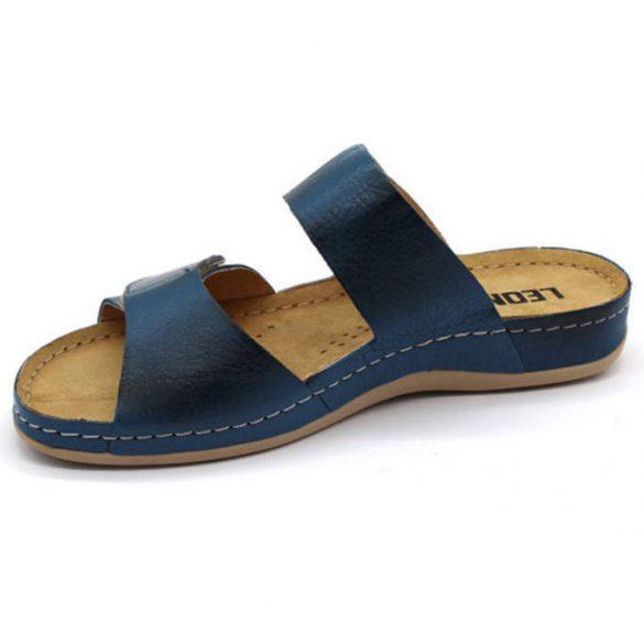 Leon Comfort 952 Dark Blue női papucs
