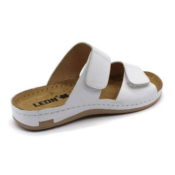 Leon Comfort 952 White női papucs