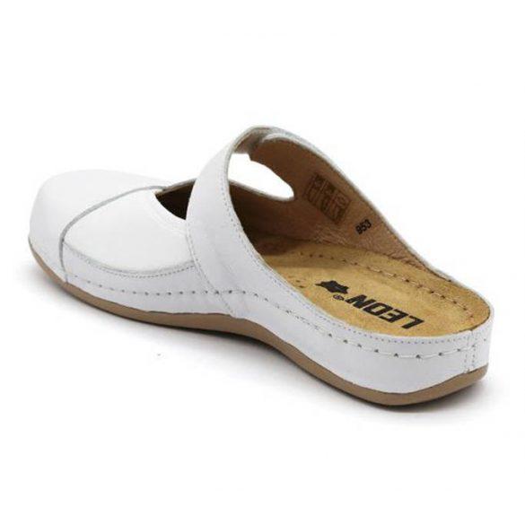 Leon Comfort 953 Fehér női papucs