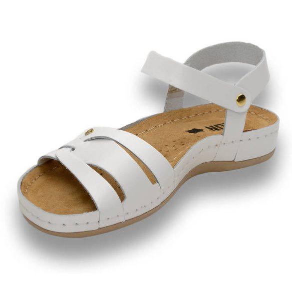 Leon Comfort 961 Fehér női szandál
