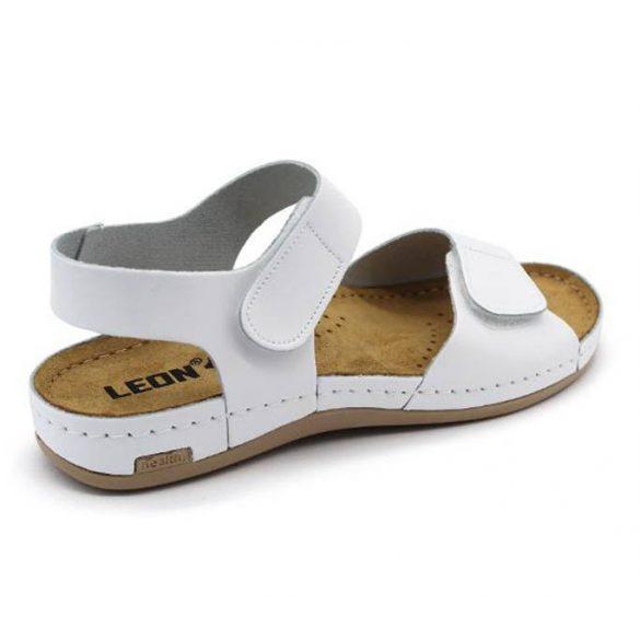 Leon Comfort 963 Fehér női szandál