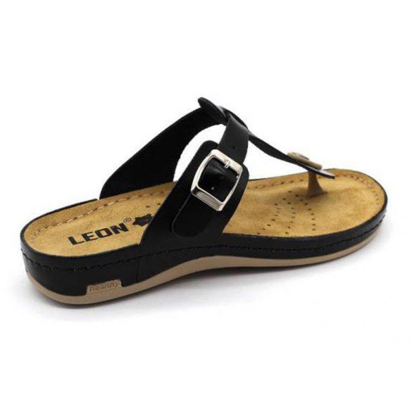 Leon Comfort 980 Fekete női papucs
