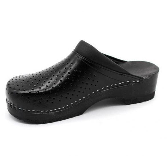Leon Comfort B2 Fekete női papucs