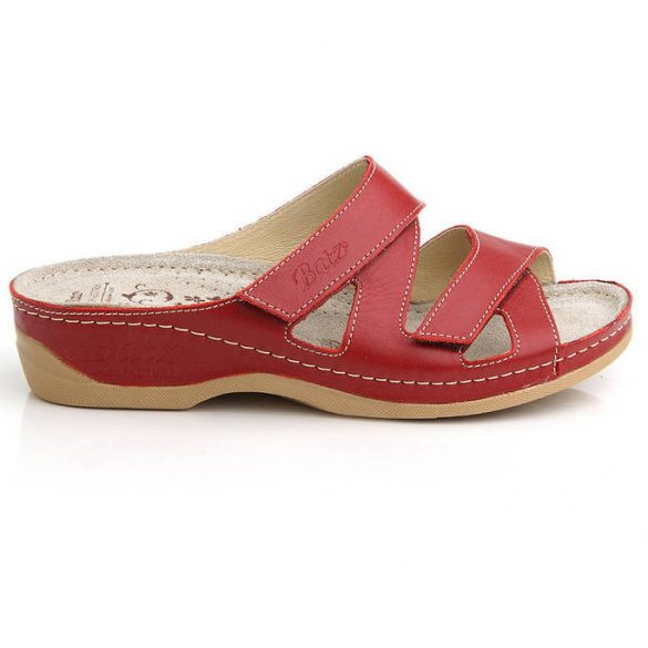 Batz Eni piros női papucs