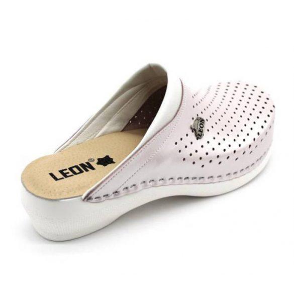 Leon Comfort PU 100 Perla női papucs