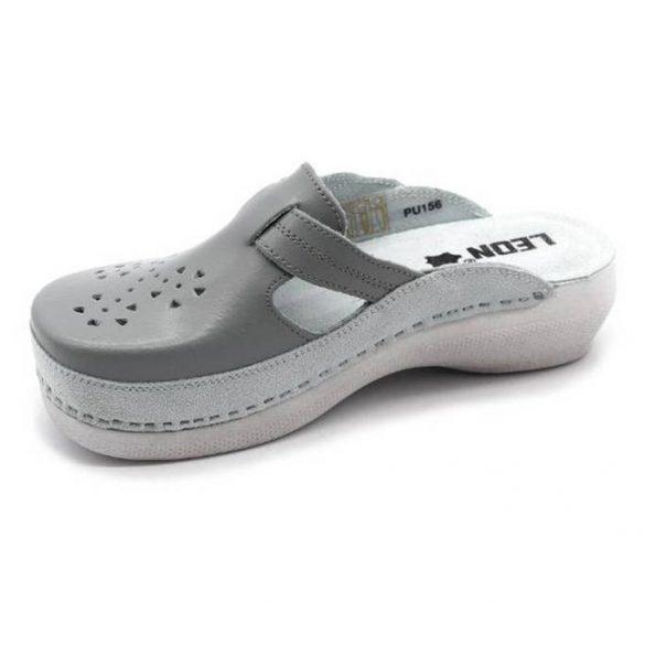 Leon Comfort PU156 Szurke női papucs