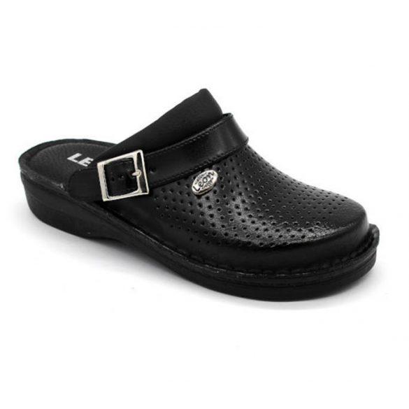 Leon Comfort V202 Fekete női papucs