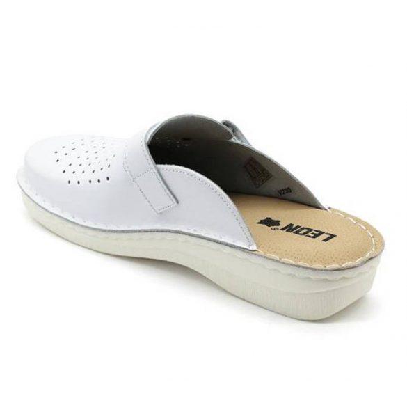 Leon Comfort V230M Fehér férfi papucs