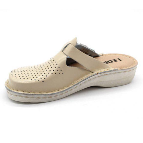 Leon Comfort V260 Bézs női papucs