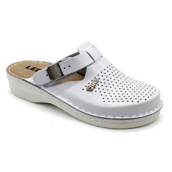 Leon Comfort V260 Fehér női papucs