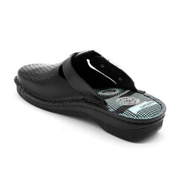 Leon Comfort V260 Fekete női papucs