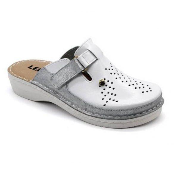 Leon Comfort V261 Fehér női papucs